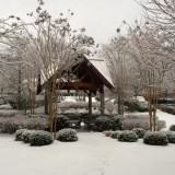 Park Springs CCRC in the snow