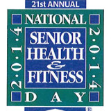 Senior Health and Fitness Day Poster 2014