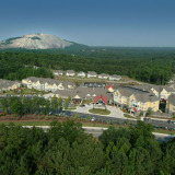Aerial Photo of Park Springs GA Retirement Community and Stone Mountain