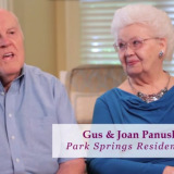 Gus and Joan Panuska, Residents at Park Springs CCRC