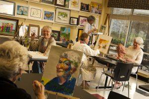 Park Springs art studio