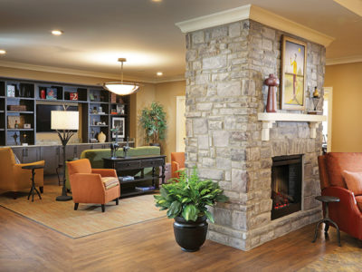 Pebblebrook Fireplace