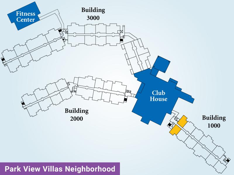 Park View Villas Unit A Map