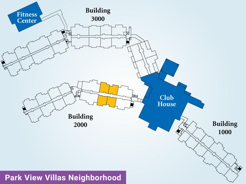 Park View Villas Unit B Map