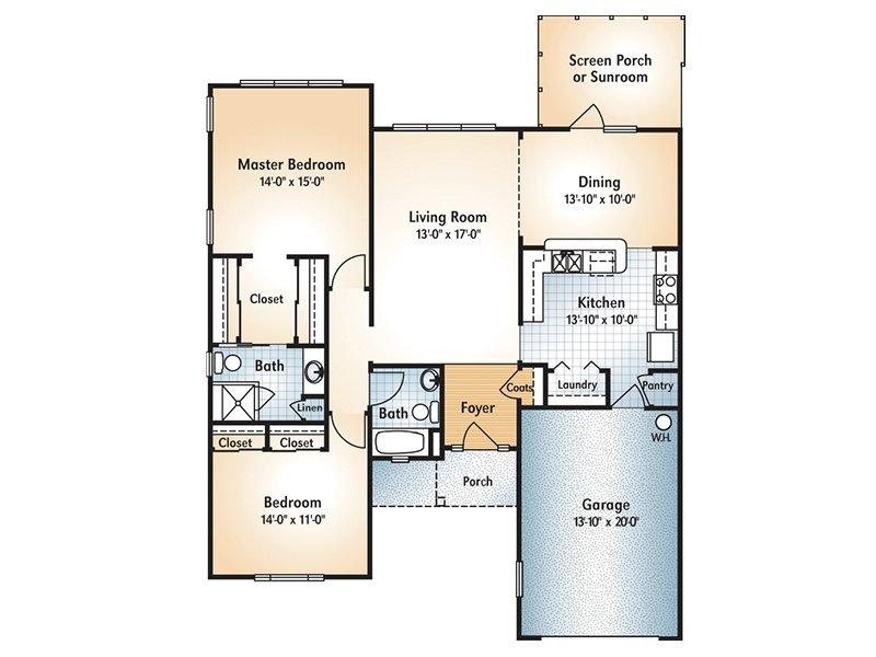 Blairsville Floorplan