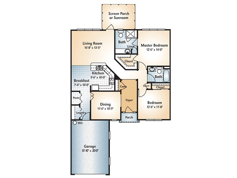 Blue Ridge Floorplan