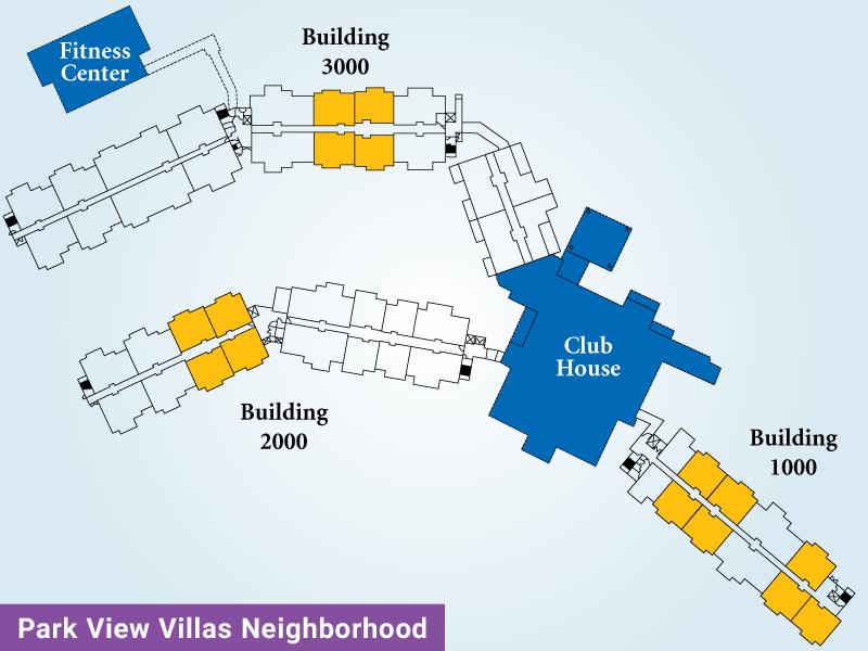 Park View Villas Unit C Map