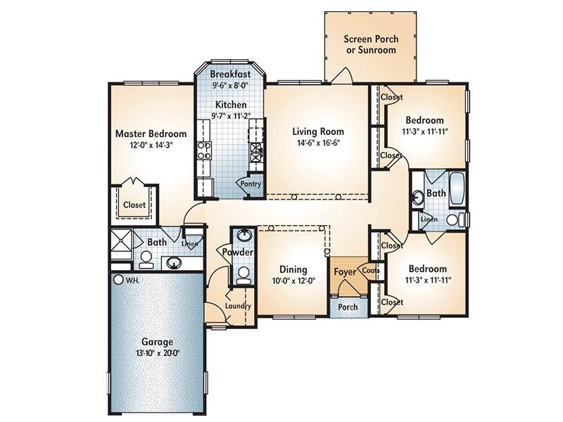 CLARKSVILLE Floorplan