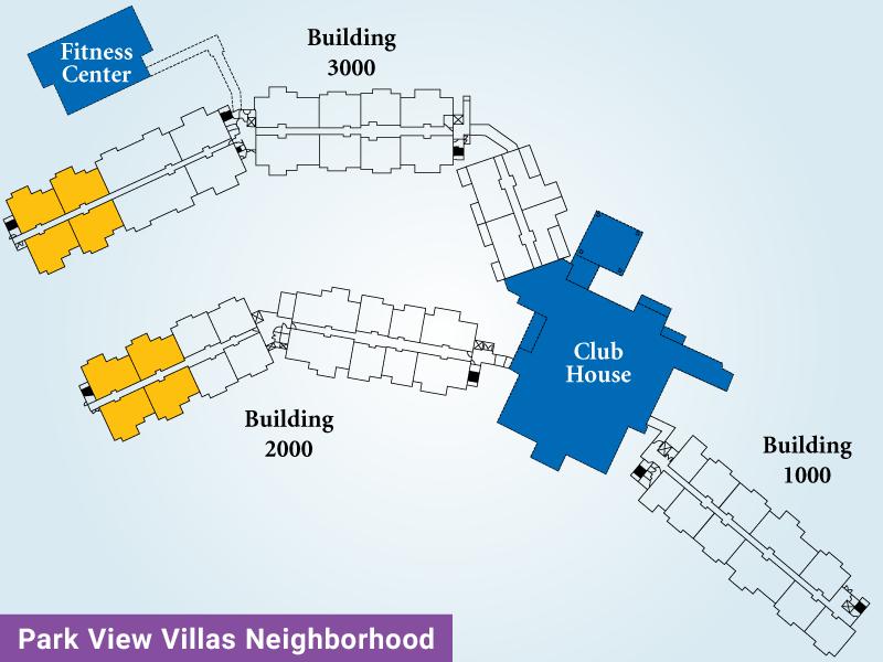 Park View Villas Unit D Map