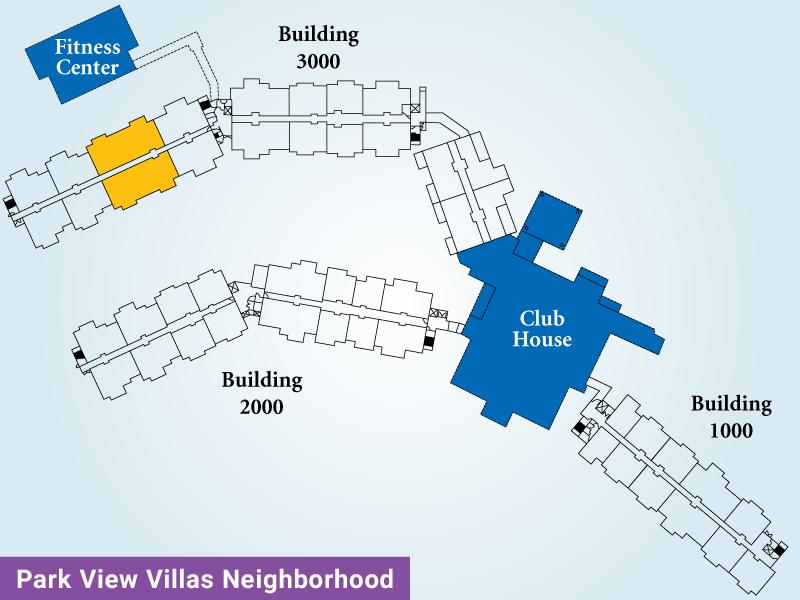 Park View Villas Unit H Map