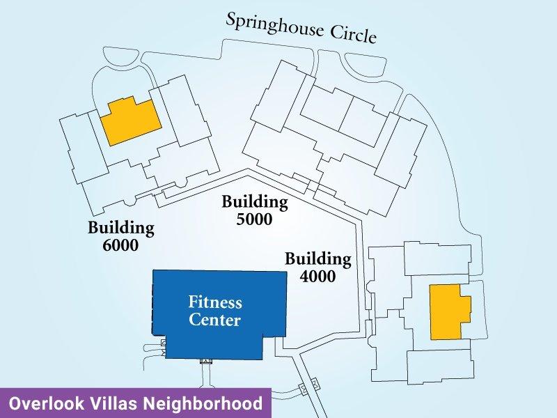 Overlook Villas Unit I Map