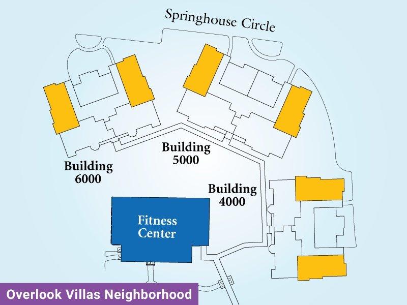 Overlook Villas Unit J Map