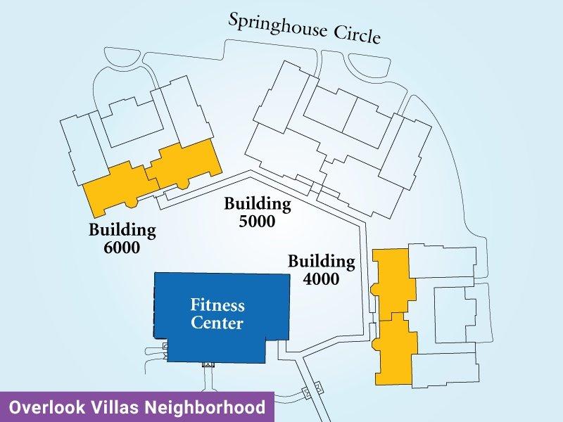 Overlook Villas Unit K Map