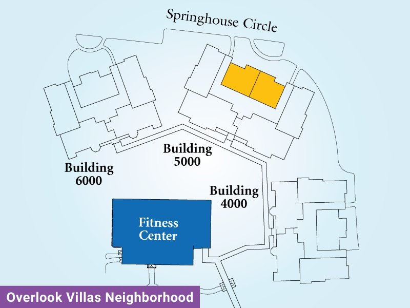 Overlook Villas Unit N Map