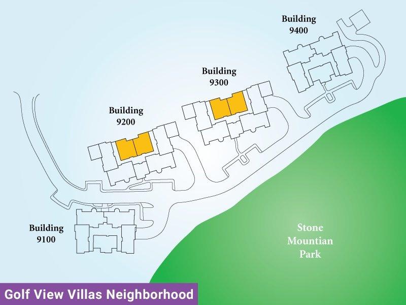 Golf View Villas Unit P Map