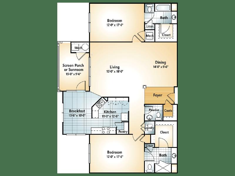 APALACHEE Floorplan