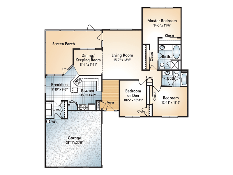 BERKLEY Floorplan