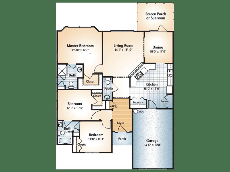 Brasstown Floorplan