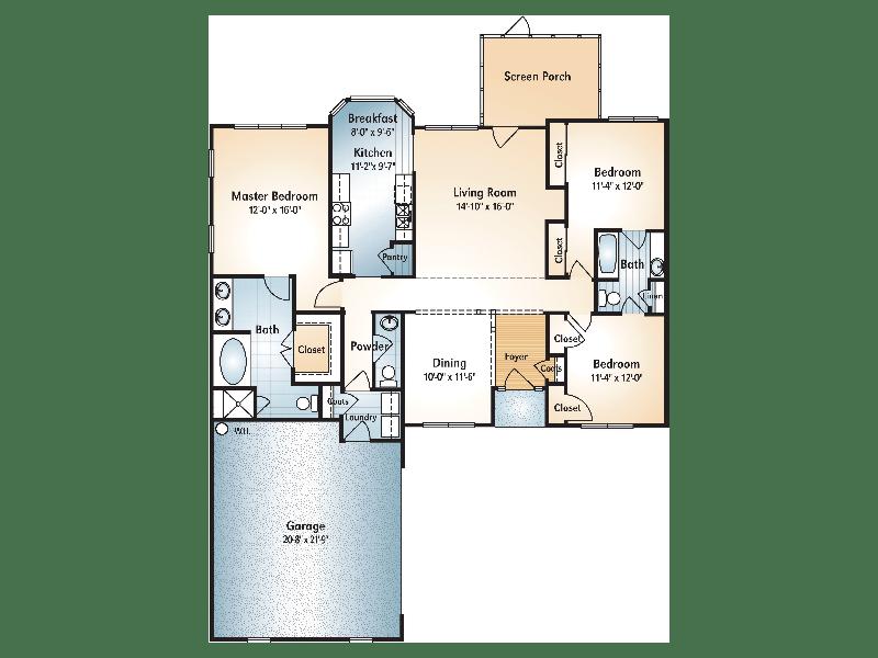 Chatuge Floorplan