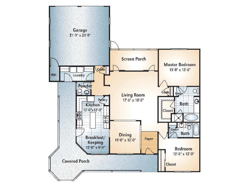 Juliette Floorplan