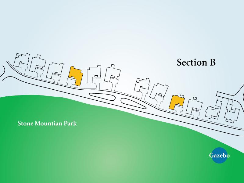 Golf View Homes Neighborhood Unit B2 Map