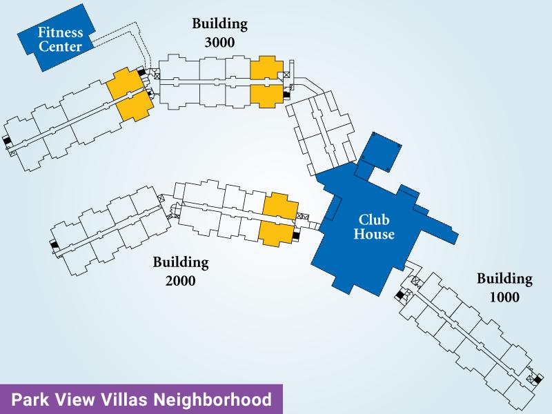 Park View Villas Unit E Map