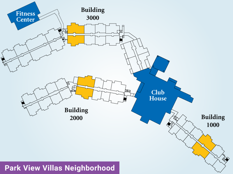 Park View Villas Unit F Map