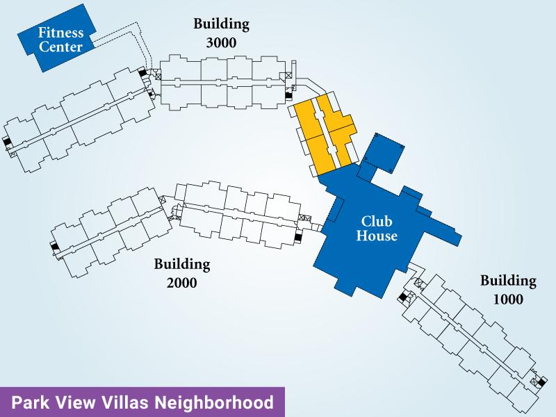 Park View Villas Unit G Map