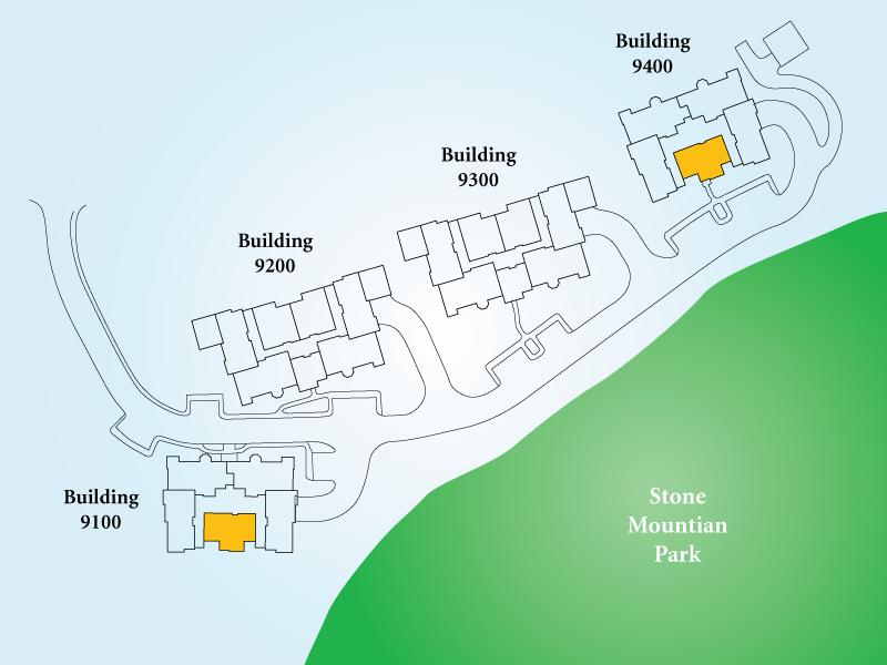Golf View Villas Unit Q Map
