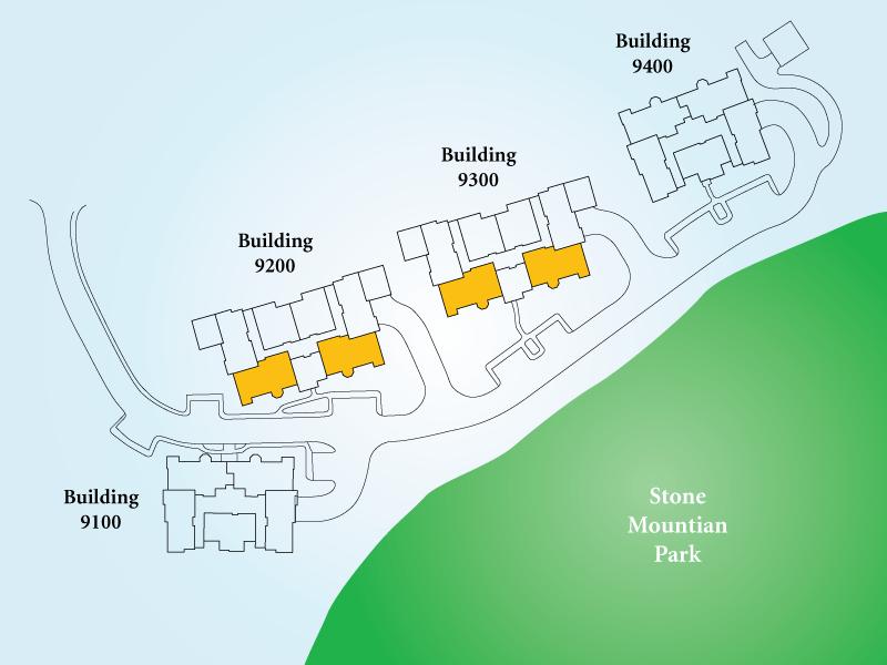 Golf View Villas Unit S Map