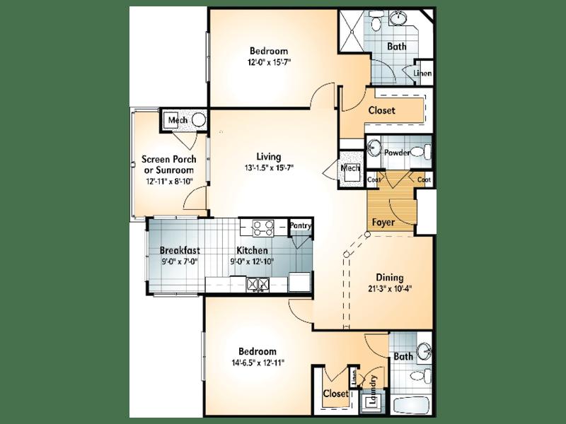 SAPELO Floorplan
