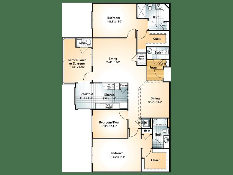 TALLULAH Floorplan