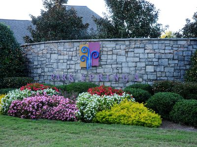Park Springs Entrance