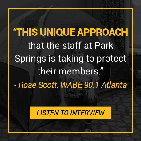 Closer Look With Rose Scott: Park Springs Staff Shelters-In-Place