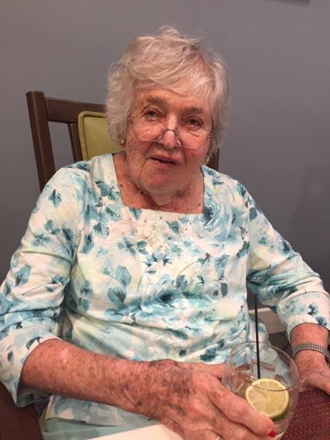 Barbara Crenshaw at Happy Hour