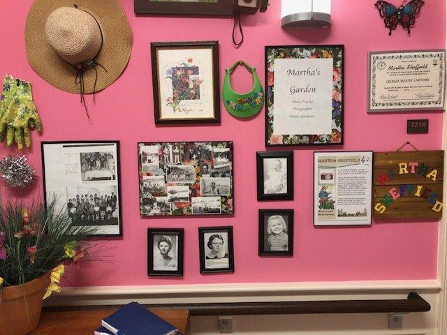 Martha's wall memory care