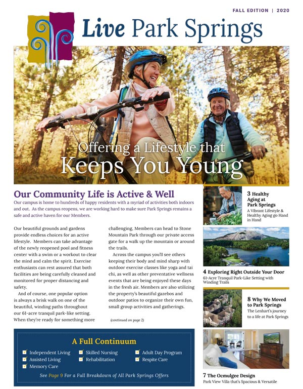 Live Park Springs - Fall 2020