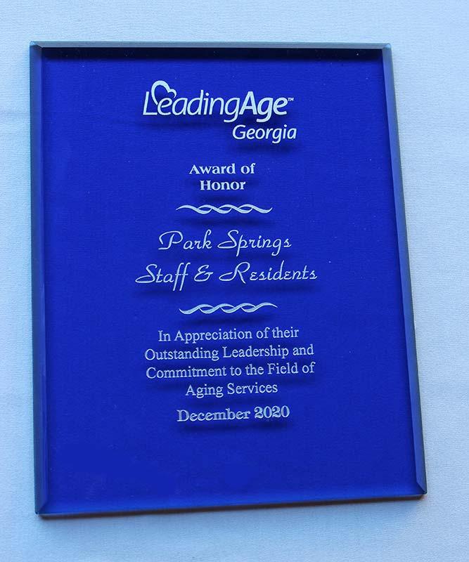 LeadingAge-Georgia-Award-of-Honor-Award